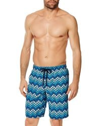 6be58078c9 Vilebrequin Bubble-turtle-print Swim Trunks in Blue for Men - Lyst