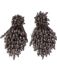 Mignonne Gavigan - Burst Beaded Statement Earrings - Lyst