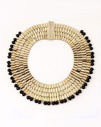 Rosantica - Cleopatra Beaded Collar Necklace - Lyst