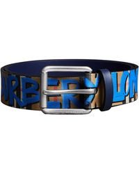 Burberry - Men's Mark Graphic-print Belt - Lyst