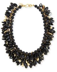 Ashley Pittman - Kalamu Layered Dark Horn Necklace - Lyst