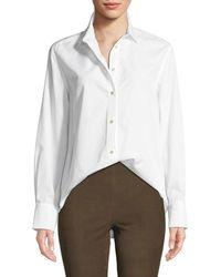 Vince - Classic Long-sleeve Button-down Shirt - Lyst