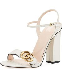 Gucci - Leather Sandal - Lyst