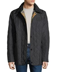 Burberry - Men's Cotswold Signature Check-lining Jacket - Lyst