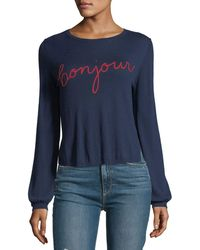 Joie - Jenris Bonjour Crewneck Pullover Sweater - Lyst