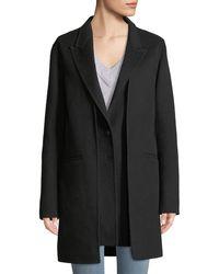 Rag & Bone - Kaye Wool Single-button Coat With Vest - Lyst