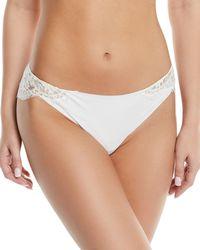 I.D Sarrieri - Fantasia Lace-trim Bikini Briefs - Lyst