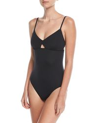 Seafolly - Active Keyhole Maillot One-piece Swimsuit - Lyst