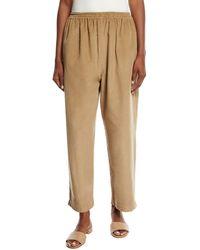 Eskandar - Corduroy Japanese Trousers - Lyst