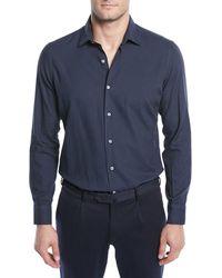 Loro Piana - Men's Arthur Cotton Sport Shirt - Lyst