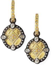 Armenta - Shield Drop Earrings - Lyst