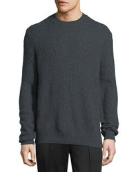 Vince | Cashmere Thermal Crewneck Sweater | Lyst