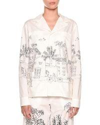 Marni - Landscape-print Pyjama Top - Lyst