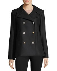 Adam Lippes | Lindas Double-breasted Pea Coat | Lyst