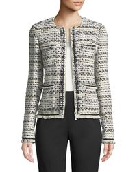 Lafayette 148 New York - Benji Tweed Jacket - Lyst