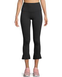 Beyond Yoga - Frill Seeker High-waist Midi Leggings W/ Flounce Hem - Lyst