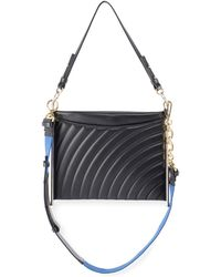Chloé - Roy Quilted Leather Clutch Bag - Lyst