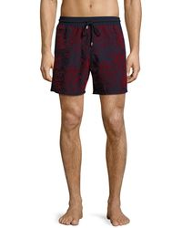 Vilebrequin - Moorea Flocked Bubbles Swim Trunks - Lyst