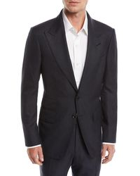 Tom Ford - Shelton Peak-lapel Check Two-piece Suit - Lyst