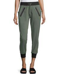 BLANC NOIR - Tech Zip-pocket Jogger Trousers - Lyst