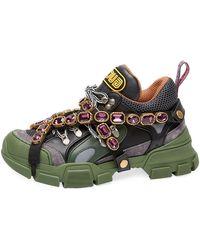 Gucci - Flashtrek Chunky Sneakers - Lyst