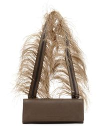 Brunello Cucinelli - Feather-strap Chest Crossbody Bag - Lyst