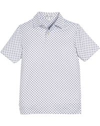 Peter Millar - Stretch Jersey Scull-print Polo Shirt - Lyst