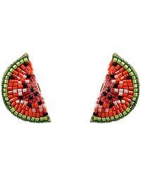 Mignonne Gavigan - Watermelon Stud Earrings - Lyst