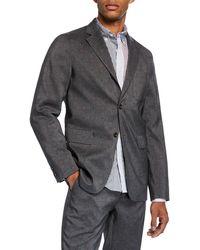 36dda4d109a2 Beams Plus - Men s Geometric-print Three-button Jacket - Lyst