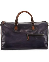 Berluti | Jour-off Mm Large Leather Duffel Bag | Lyst