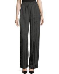 Alexander Wang - Satin-striped Pyjama Trousers - Lyst
