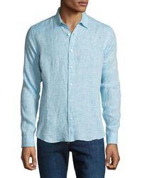 Orlebar Brown - Men's Morton Tailored Sport Shirt - Lyst