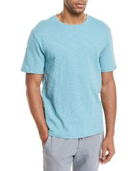 Vince - Solid Crewneck Jersey T-shirt - Lyst
