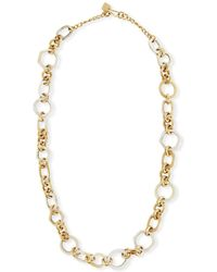 Ashley Pittman - Shauri Light Horn Link Necklace - Lyst