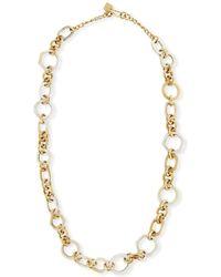 Ashley Pittman - Shauri Light Horn Link Necklace - Lyst