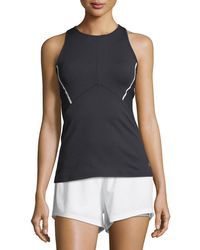 Under Armour | Mirror Cross-back Fitted Performance Tank Top | Lyst