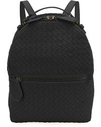 Hot Bottega Veneta - Woven Napa Leather Backpack - Lyst 2eb4aab22b049