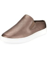 Vince - Verrell-2 Metallic Leather Mule Trainer - Lyst