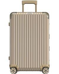 "Rimowa Topas 26"" E-tag Multiwheel Spinner Luggage"