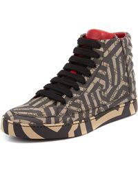 Gucci - Gg Caleido Canvas High-top Sneaker - Lyst