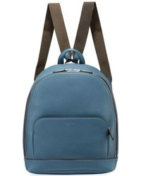 Giorgio Armani - Men's Tumbled Calf Leather Backpack - Lyst