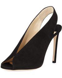 374615e3fa9 Lyst - Jimmy Choo Hesper Strappy 85mm Sandal in Black