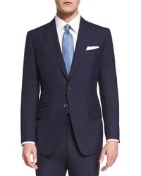 Tom Ford - O'connor Base Plain-weave Sharkskin Two-piece Suit - Lyst