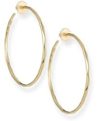 Ippolita - Thin Glamazon Hoop Earrings - Lyst