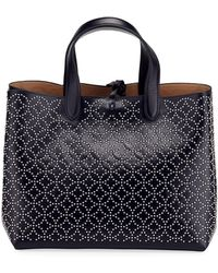 Alaïa - Studded Small Tote Bag - Lyst