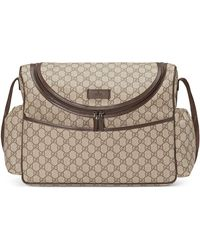 1f9870338072 Gucci - Basic GG Supreme Canvas Diaper Bag - Lyst