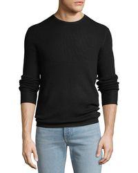 Rag & Bone - Men's Gregory Waffle-knit Merino Wool Sweater - Lyst