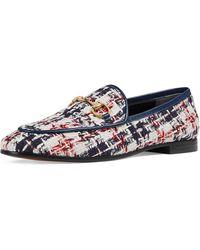 Gucci - New Jordaan Plaid Tweed Loafer - Lyst