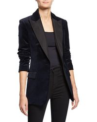 A.L.C. - Steele One-button Velvet Jacket - Lyst