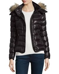 Moncler - Armoise Shiny Quilted Jacket - Lyst